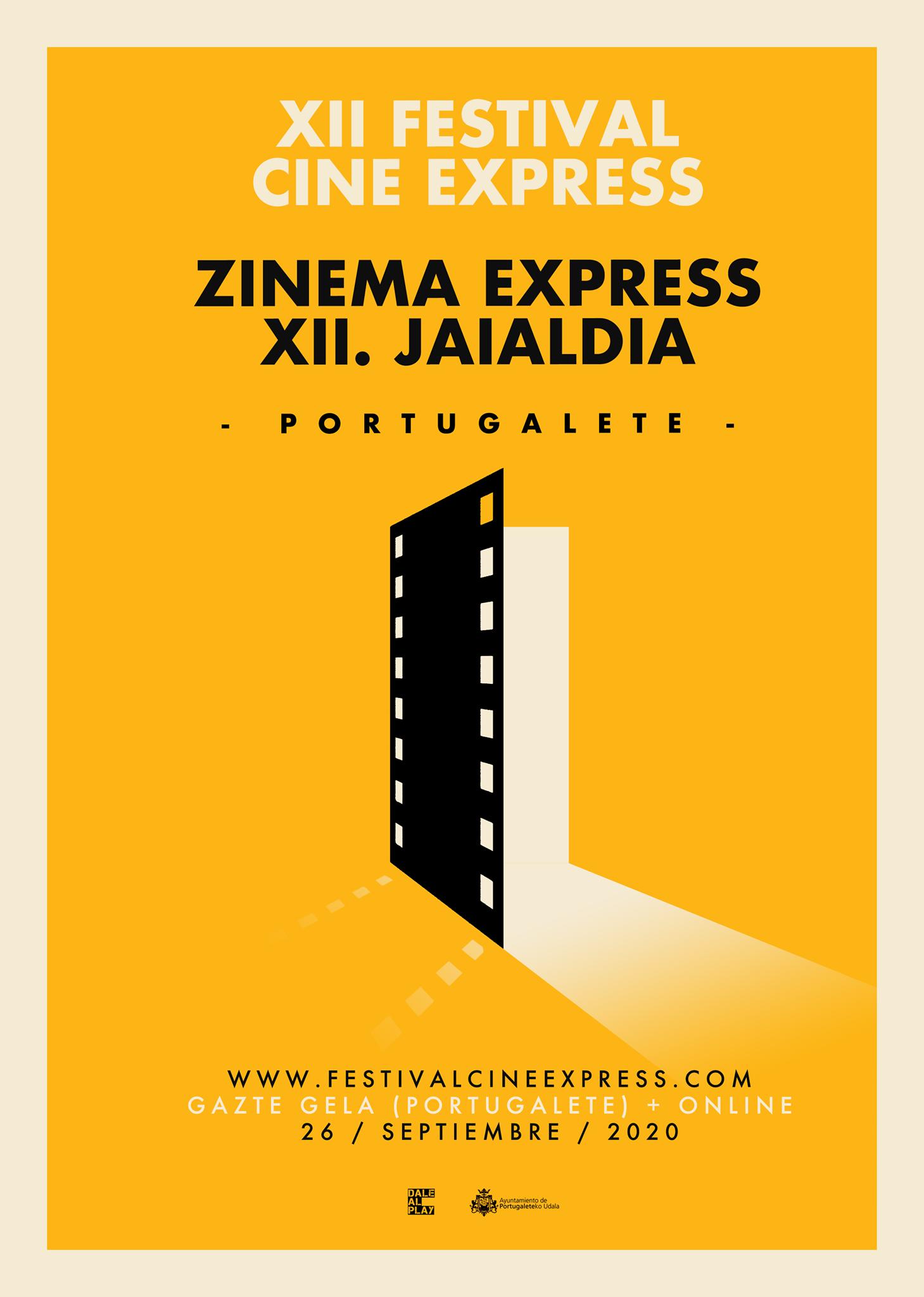 Cartel Cine Express Portugalete